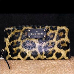 Kate Spade cheetah print wallet!